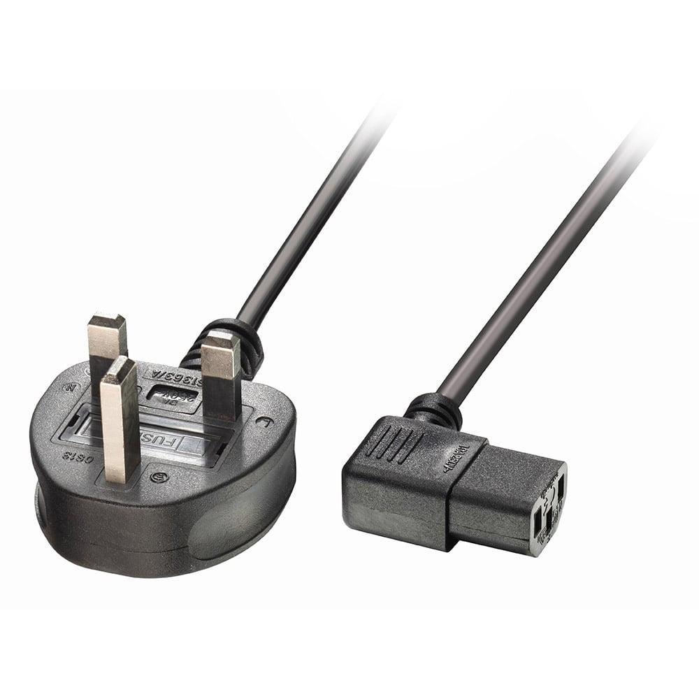 Lindy 30447 power cable Black 2 m 2 x C13 coupler