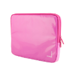 Urban Factory Crazy Laptop Vinyl Sleeve for 13.3 Inch Devices, Fuschia Pink (MSB14UF)