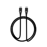 "Siig CB-DP1P11-S1 DisplayPort cable 78.7"" (2 m) Black"