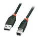 Lindy 10m USB 2.0 USB cable USB A USB B Black
