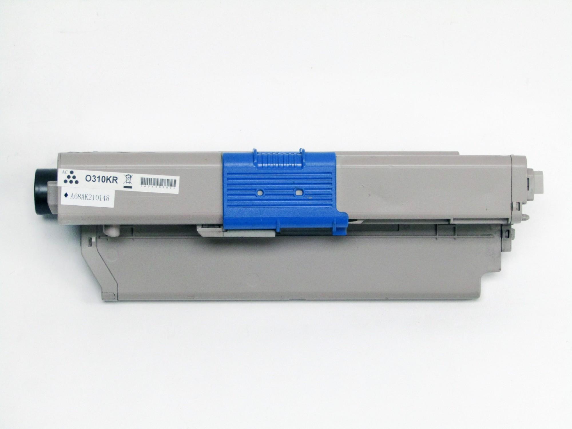 Remanufactured OKI 44469803 Black Toner Cartridge