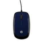 HP X1200 Revolutionary Blue Wired Mouse mice
