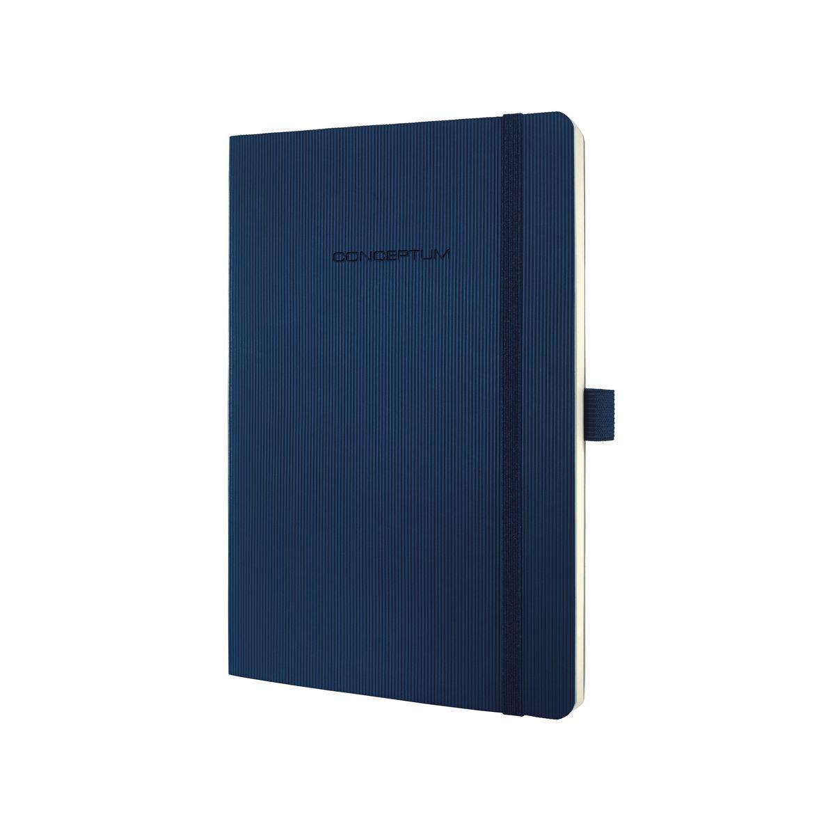 Sigel Conceptum writing notebook A5 194 sheets Blue