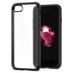 "Spigen Ultra Hybrid 2 mobiele telefoon behuizingen 11,9 cm (4.7"") Hoes Zwart, Transparant"