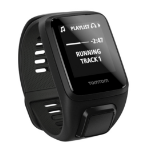 TomTom Spark 3 Cardio + Music Bluetooth Black sport watch