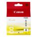 Canon CLI-8Y cartucho de tinta Amarillo