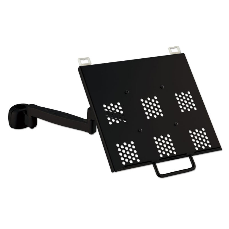 MODULAR NOTEBOOK ARM SUPPORTS UP TO 6KGS BLACK