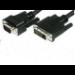 Microconnect 50991 3m DVI-I VGA (D-Sub) Black video cable adapter