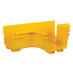 Tripp Lite SRFC5JUNT cable tray T-type cable tray 90° Yellow