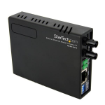 StarTech.com 10/100 Multi Mode Fiber Copper Fast Ethernet Media Converter ST 2 km