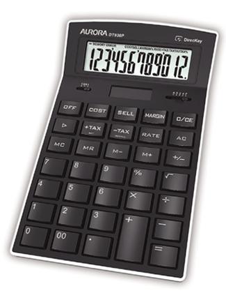 Aurora DT930P calculator Desktop Display Black