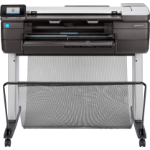 HP Designjet T830 24-in large format printer Inkjet Colour 2400 x 1200 DPI Wi-Fi