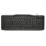 Trust ClassicLine UK USB QWERTY UK English Black keyboard