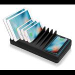 Siig AC-PW1H11-S1 charging station organizer Desktop mounted Black