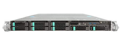 Intel R1208WTTGSR Intel C612 LGA 2011-v3 1U Black, Metallic server barebone