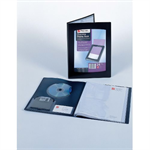 Rexel Clearview A4 Display Book 100-Pocket Black