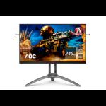 "AOC AGON 3 AG273QZ computer monitor 68.6 cm (27"") 2560 x 1440 pixels Quad HD LED Black, Red"