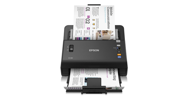 Epson WorkForce DS-860N Sheet-fed scanner 600 x 600DPI A4 Black
