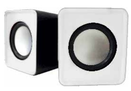 APPROX appSPX1W loudspeaker 5 W White Wired USB/3.5mm