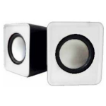 Approx appSPX1W loudspeaker 5 W White Wired USB/3.5mm