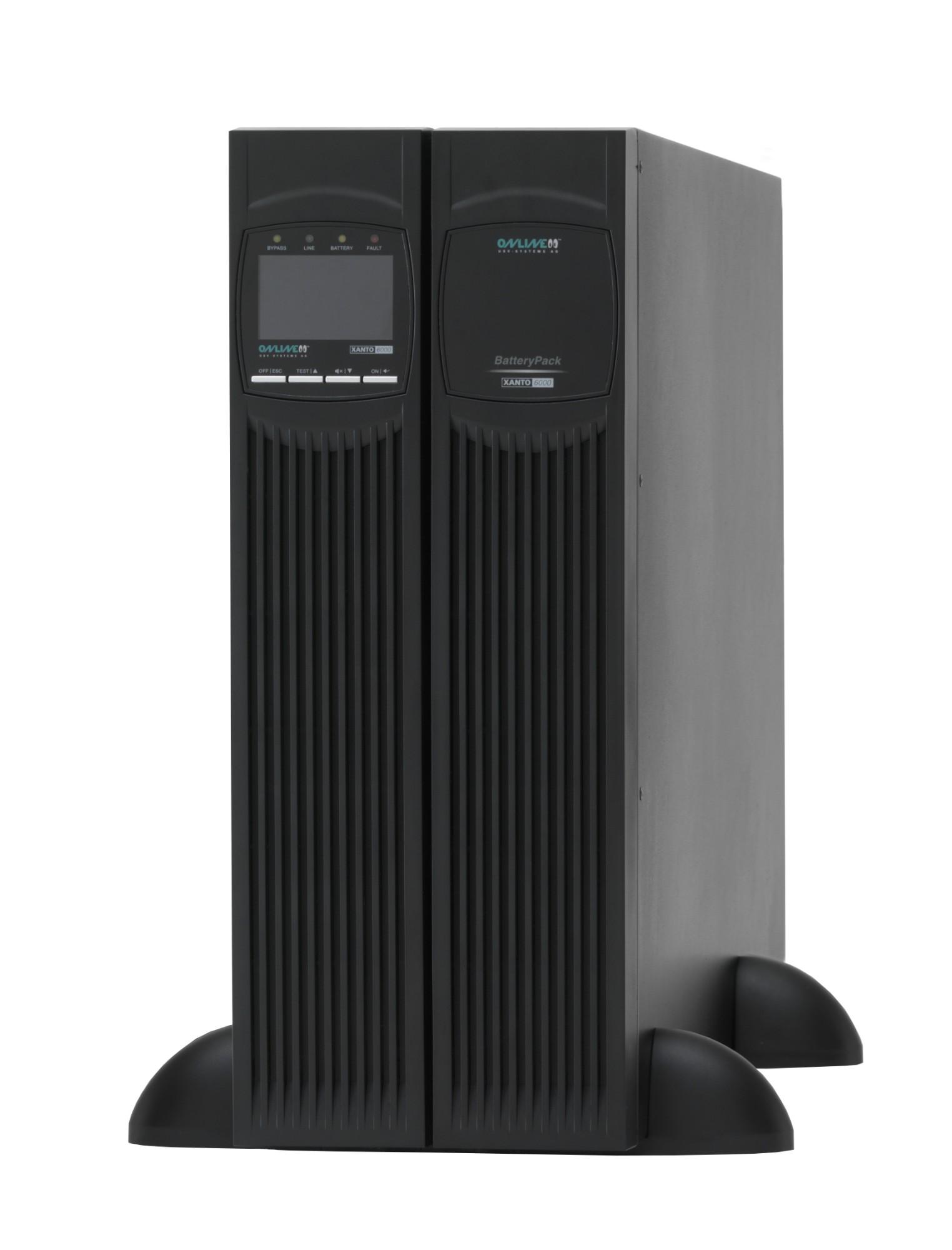 ONLINE USV-Systeme XANTO 6000 uninterruptible power supply (UPS) Double-conversion (Online) 6000 VA