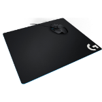 Logitech G640 Black Gaming mouse pad