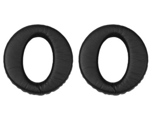 Jabra 14101-41 headphone pillow Faux leather, Leather Black 2 pc(s)