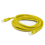 """Add-On Computer Peripherals (ACP) ADD-10FCAT6A-YW networking cable 120.1"""" (3.05 m) Cat6a U/UTP (UTP) Yellow"""