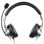 Hama 00139914 Binaural Head-band Black headset