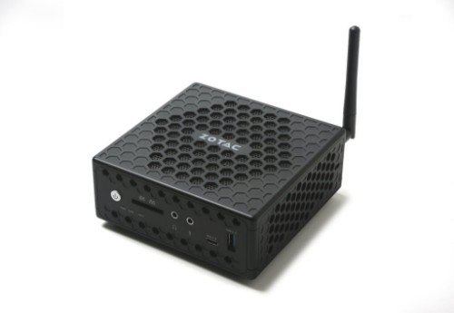 Zotac ZBOX CI327 nano BGA 1296 1.10 GHz N3450 1L sized PC Black