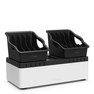 Belkin B2B160VF charging station organizer Desktop & wall mounted Black, White