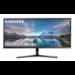"""Samsung LS34J550WQU LED display 86.6 cm (34.1"""") 3440 x 1440 pixels UltraWide Quad HD Black"""