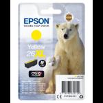 Epson Polar bear C13T26344012 Tintenpatrone Original Gelb 1 Stück(e)