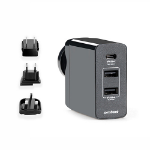 mBeat ® Gorilla Power 45W USB-C Power Delivery (PD 2.0) and Dual USB-A World Travel Charger