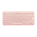 Logitech K380 For Mac keyboard Bluetooth QWERTY UK English Pink 920-010404