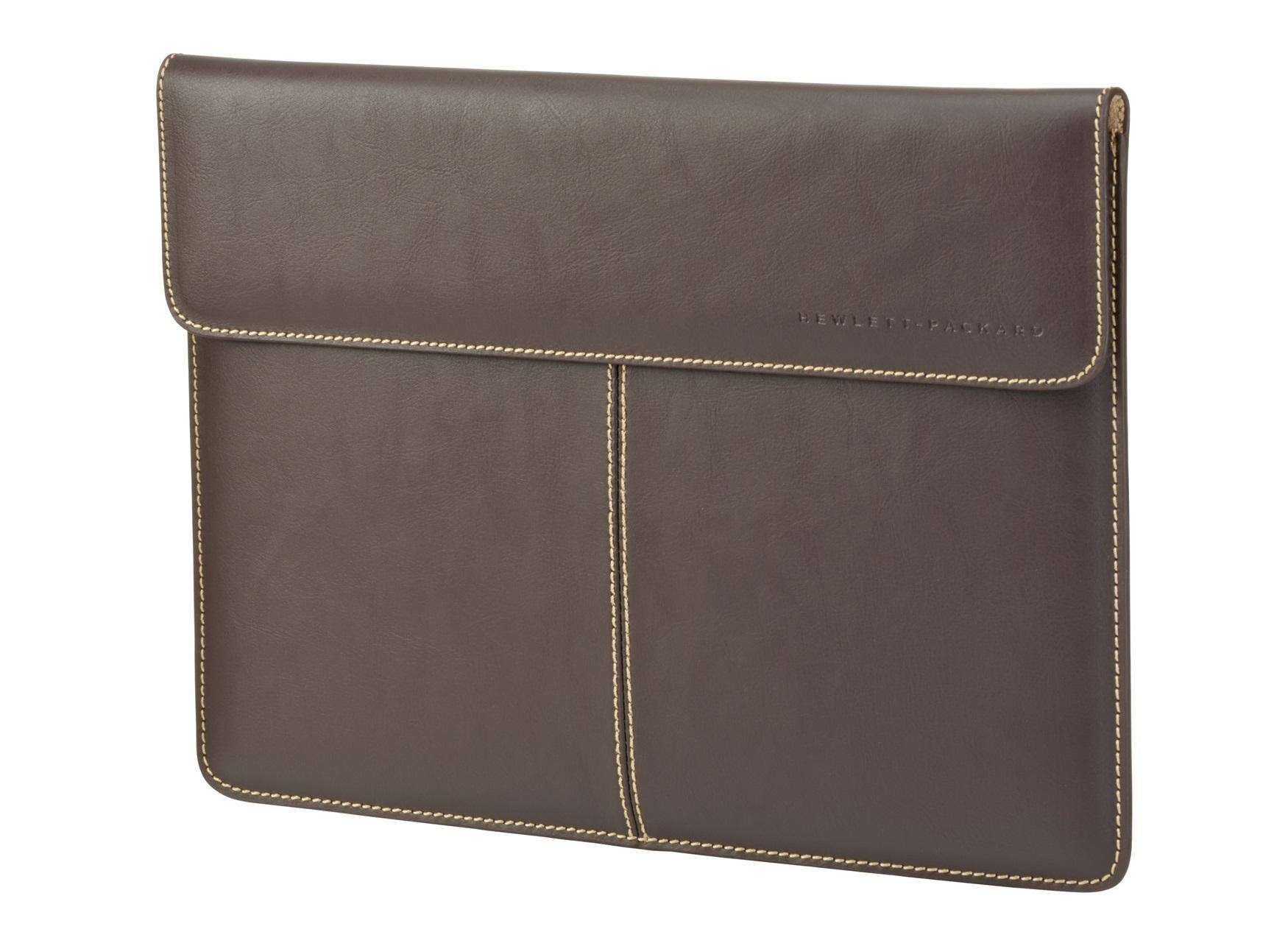 "HP 33.8 cm (13.3"") Premium Leather Sleeve 13.3"" Sleeve Brown"