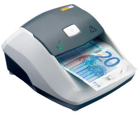 ratiotec Soldi Smart counterfeit bill detector Black, Grey