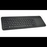 Microsoft All-in-One Media Keyboard Tastatur RF Wireless QWERTZ Deutsch Schwarz