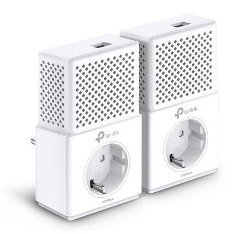 TP-LINK AV1000 1000 Mbit/s Ethernet LAN White 2 pc(s)