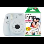 Fujifilm Instax Mini 9 Smoky White Instant Camera inc 30 Shots