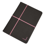 "Urban Factory Collins Folio Universal for all 10"" tablets Dark Grey / Pink"