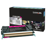 Lexmark X746A1MG Toner magenta, 7K pages
