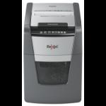 Rexel Optimum AutoFeed+ 100X paper shredder Cross shredding 55 dB 22 cm Black, Grey