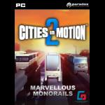 Paradox Interactive Cities in Motion 2: Marvellous Monorails, PC/Mac/Linux Videospiel PC/Mac/Linux Standard Deutsch