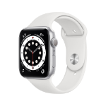 Apple Watch Series 6 OLED 44 mm Silver GPS (satellite)