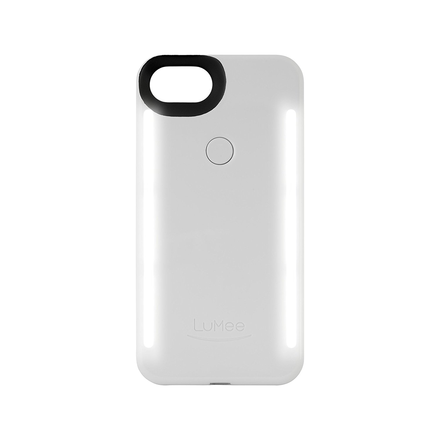 LUMEE Duo iPhone 7 - White Glossy