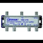 Spaun VBE 6 PD Cable splitter Metallic
