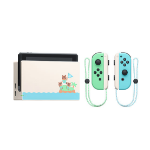 """Nintendo Switch Animal Crossing: New Horizons Edition portable game console 15.8 cm (6.2"""") 32 GB Touchscreen Wi-Fi Blue, Green, Grey, White"""