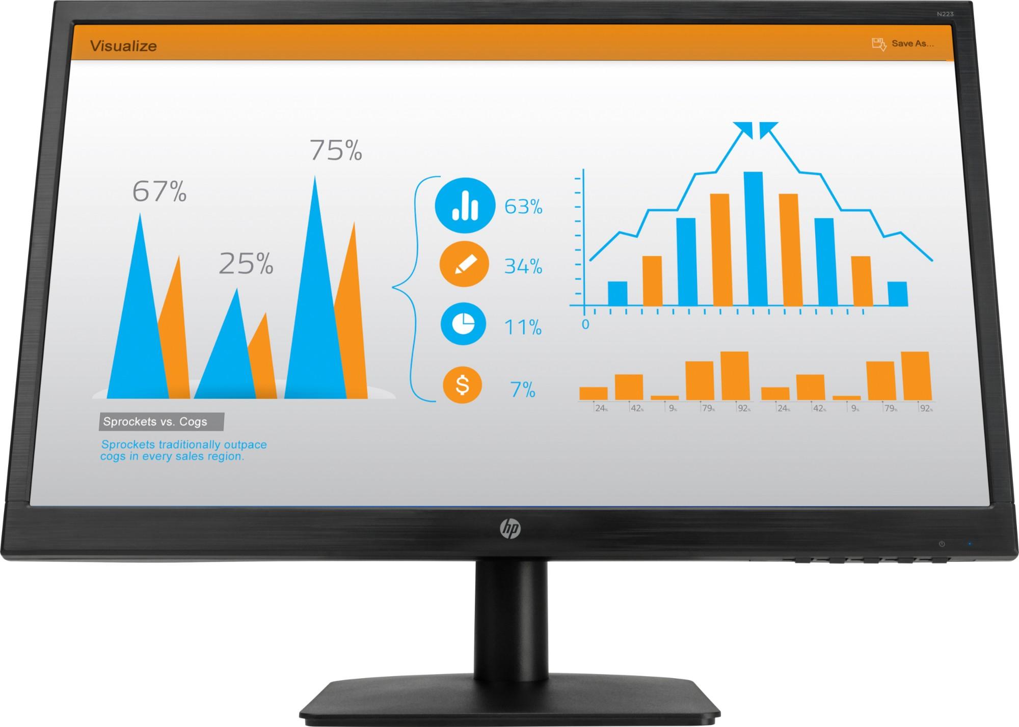 LED monitor - N223 - 21.5in