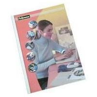 FELLOWES 53152 BINDING COVER A4 PLASTIC TRANSPARENT,WHITE 100 PC(S)